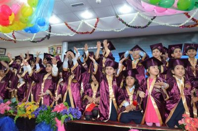 Graduation Ceremony for KG (1,2)