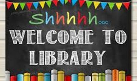 Welcome to library Grade 1