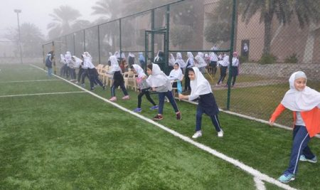 Competition of Roping and speed Racing among Girls ,Grade4-6