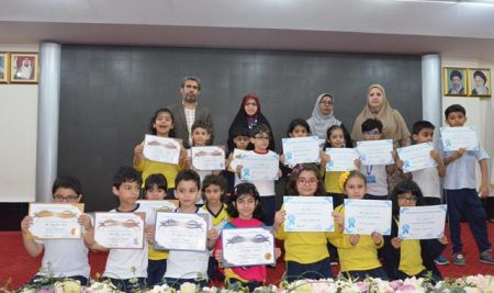 Appreciation of Top Students in Grade 1-3 ( International Section)