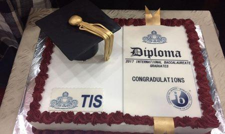 جشن پایان دوره دانش آموزان دوازدهم IB