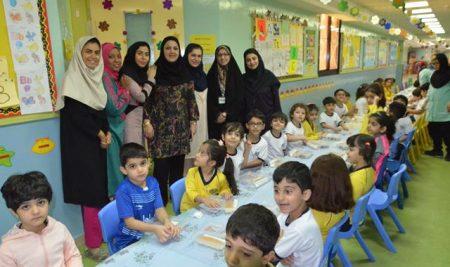 برگزاری برنامه صبحانه سالم در بخش پیش دبستانی