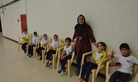 برگزاری مسابقات آمادگی جسمانی پایه های اول تا ششم ابتدایی مرحله سرپرستی