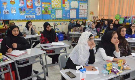 برگزاری کارگاه آموزشی آشنایی با الگوهای روش تدریس برای دبیران پایه KG تا ششم ابتدایی بخش بین الملل
